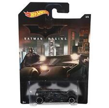 *NEW* Hot Wheels Batman Begins Batmobile Die-cast Car (3/6)