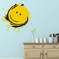 HAPPY SUN SUNSHINE KIDS ROOM WALL DECAL STICKER transfer graphic vinyl RA167