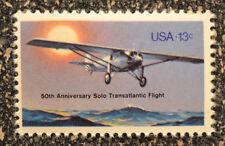 US1977 #1710 13c Lindbergh Transatlantic Solo Flight  -  Mint  NH  airplane