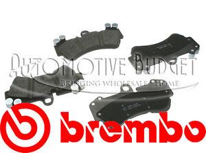 Front Brake Pads Porsche Cayenne & Volkswagen Touareg - NEW BREMBO