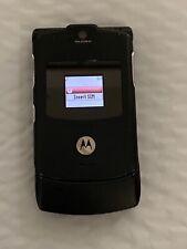Motorola Razr V3 Black (Cingular ) Cellular Flip cell Phone, no return