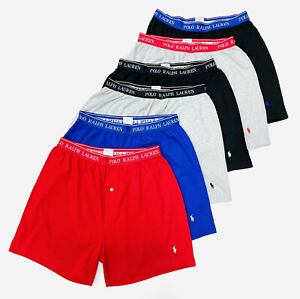 Polo Ralph Lauren Men's Classic Fit Boxers With Wicking In 6 Pack