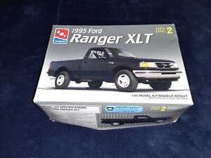 1995 Ford Ranger XLT AMT 1/25 Scale #8945, NEW IN BOX! COMPLETE & UNSTARTED!