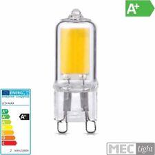 G9/GU9 LEDCOB Stiftsockel-Leuchtmittel - 2W - 200lm - 240° - warm-weiß (3000K)