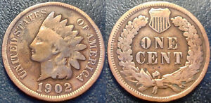 United States - Indian Head Cent 1902 - Km#90a