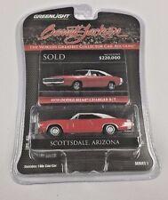GreenLight Barrett Jackson 1970 Dodge Hemi Charger R/T Scottsdale Arizona
