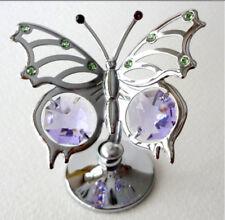 Angelwing CRYSTOCRAFT SWAROVSKI Crystal Ornament Bomboniera Confezione Regalo di Natale NUOVO
