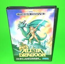 Alisia Dragoon SEGA MEGADRIVE Boxed No Manual Classic Platform Retro Game