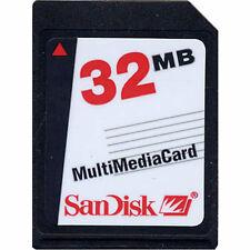 32MB Sandisk MMC SD memory Multimedia-Card Speicher-Karte industrial grade w.neu