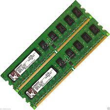 4 GB (2x2 GB) DDR2-533 PC2 4200 memoria ECC RAM Desktop