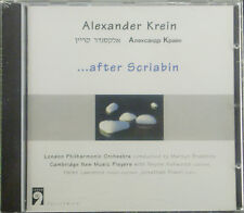 CD Alexander Krein -... after Scriabin, OVP
