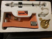 Lyman Model 1000 Grain Scale W/ Box And All accessories