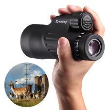 Waterproof 10x50mm Monocular w/ Mil-hash Reticle w/ Tripod for Hunting Birding