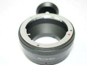 Olympus OM - Micro 4/3rds Body Lens Mount Adapter
