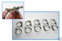 Autobahn88 Stainless Ear Crimp-Clamp 14.5-17mm 0.58-0.68 for PEX Tubing Pack of 10
