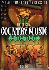 "THE ORIGINAL COUNTRY MUSIC JUKEBOX ""240 All Time Country Classics"" 8CD Set"