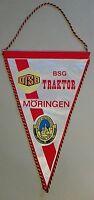 Wimpel BSG Traktor Möringen DDR Bezirks. Fussball DTSB Magdeburg Altmark Stendal