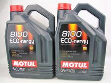 Lubricante Motul Eco-nergy 8100 5w-30 de 5 litros