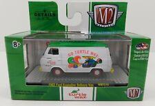 M2 Machines 1965 Ford Econoline Delivery Van Turtle Wax Walmart Exclusive 1:64