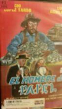 EL HOMBRE DE PAPEL. LUIS AGUILAR, COLUMBA DOMINGUEZ. RARE SPANISH VIDEO