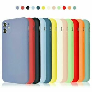 Genuine Original Silicone Case Cover for Apple iPhone 11 12 Pro Max X XR XS 7 8