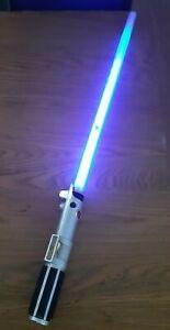 2010 Star Wars Anakin Skywalker Ultimate FX Lightsaber Hasbro C-2945A Read Descr