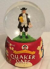 VINTAGE  QUAKER OATS CEREAL SNOW GLOBE BY VANDOR COLLECTIBLE VERY RARE!
