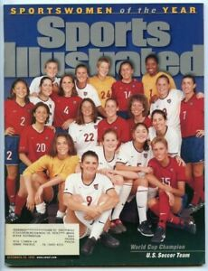 SI: Sports Illustrated December 20, 1999 World Cup Champion: U.S Soccer Team, VG