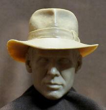 "CUSTOM HARRISON FORD INDIANA JONES HEAD SCULPT.  1/6 scale. 12"". A-61"