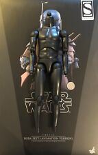 "Hot Toys Star Wars Boba Fett ANIMATA 12"" nudo corpo Loose SCALA 1/6th"
