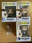 The+Office+Funko+Pops+Jim+870+Pam+872+Kevin++874+and+bonus+keychain