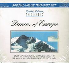 CD album: Dvorak - Brahms: dances of Europe. intersound 2 cds. C5