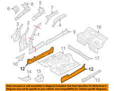 FORD OEM 10-14 Mustang Floor-Inner Rocker Left AR3Z6310117A