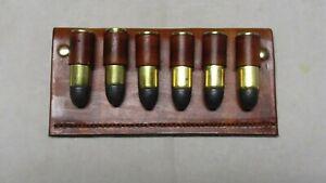 Cartridge Belt Slide for 45 Colt, Six Round Capacity
