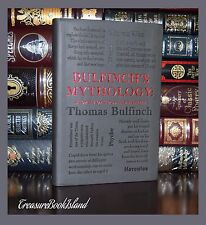 Bulfinch's Mythology by Thomas Bulfinch Gods Heroes New Soft Leather Feel Gift