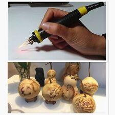 Pyrography Pen Machine Kit Set Gourd Wood Crafts Tool Burning Station 110V US