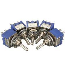 Mini Enclavamiento Interruptor Interruptor DPDT en-en AC 6A/125V 3A/250V 6 terminal MTS-202