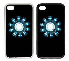 Arc Reactor - Rubber and Plastic Phone Cover Case Helmet Man