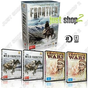 Frontier DVD American History Documentary The Indian Wars + Buffalo Bill & more