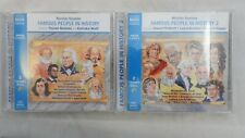 Famous People in History 1 & 2 audiobooks on CD Junior Classics