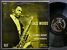 ILLINOIS JACQUET Orchestra Jazz Moods LP CLEF RECORDS MG C-700 US 1955 DG MONO