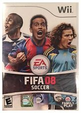 FIFA Soccer 08 Nintendo Wii Brand New Sealed Free US Shipping Nice