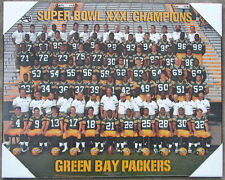 Green Bay Packers Super Bowl 31 Championship Picture Plaque (Formal Team Pose)