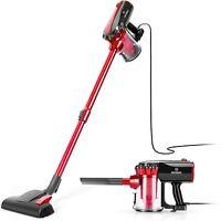 MOOSOO Vacuum Cleaner Corded 17KPa Suction Stick Vacuum 2 in 1 Vacuum D600 VC04