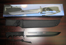 Frost Cutlery Night Warrior Tac Xtreme Hunting Knife With Sheath Clearance Price
