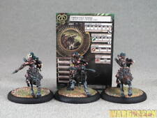50mm Hordes WDS painted Circle Orboros Tharn Wolf Riders Unit c89