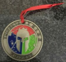 Spartan Race Medal Christmas Ornament Trifecta Tribe Finisher