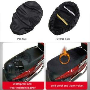 Motorcycle Seat Cover Universal Scooter Flexible Seat Protector Waterproof Cover