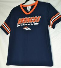NFL Team Apparel Denver Broncos Jersey Shirt Top XL 16/18
