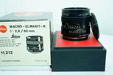 Leica Macro-Elmarit-R 60mm f/2.8 3 Cam Lens Boxed #3208414